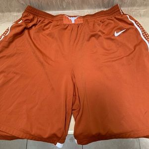 Nike University of Texas NCAA Basketball Shorts